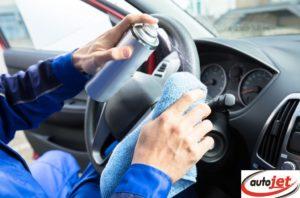 Autojet car disinfection